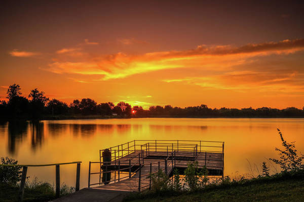 Photograph - Sunrise At Ottawa Metro Park by Dan Sproul