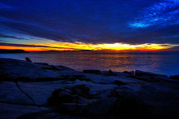 Photograph - Sunrise At Otter Cliffs #3 by Stuart Litoff