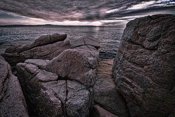 Photograph - Sunrise At Otter Cliffs #5 by Stuart Litoff
