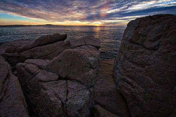 Photograph - Sunrise At Otter Cliffs #8 by Stuart Litoff