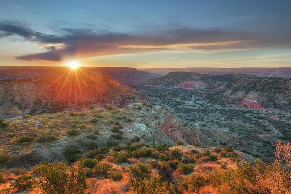 Wall Art - Photograph - Sunrise At Palo Duro Canyon, Texas 4 by Rob Greebon