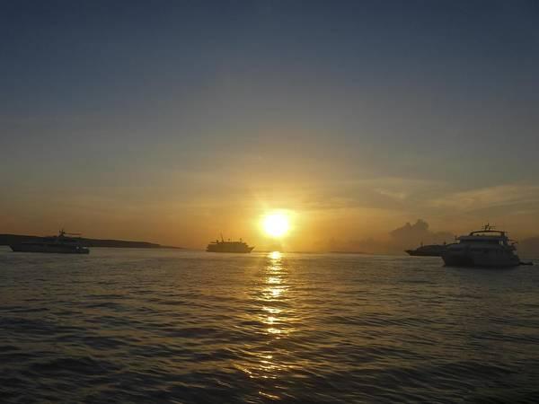 Photograph - Sunrise  At  Puerto Ayora by NaturesPix