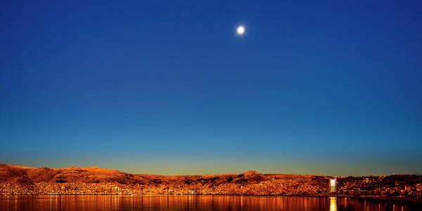 Wall Art - Photograph - Sunrise At Puno, Peru by Oscar Gutierrez