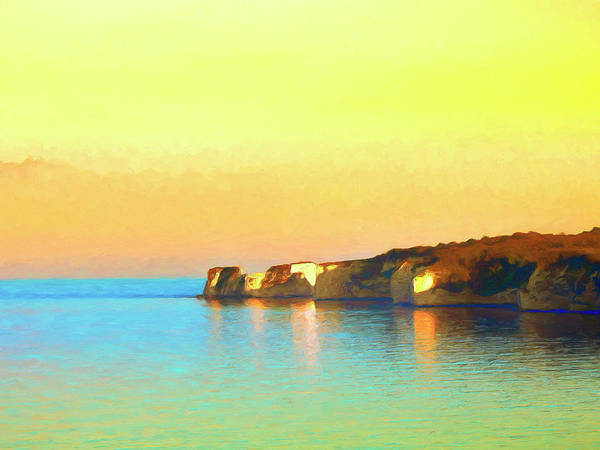 Painting - Sunrise At Seacliffs by Dominic Piperata