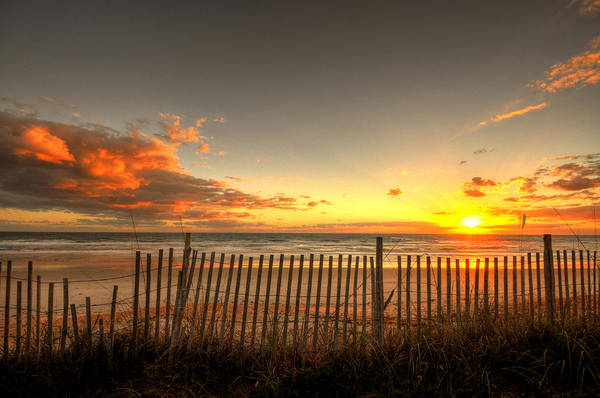 Flagler Beach Photograph - Sunrise At Snack Jacks by Andrew Armstrong  -  Mad Lab Images