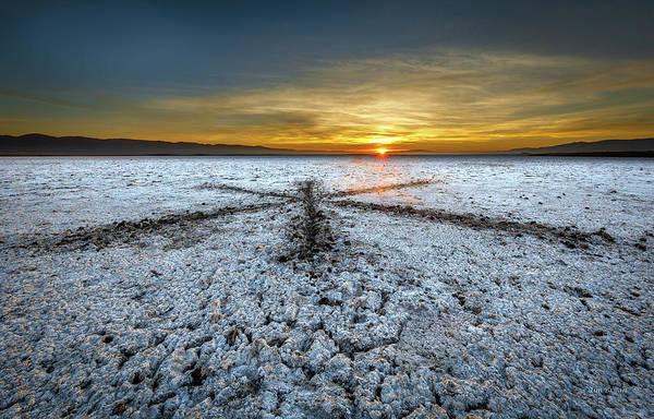 Photograph - Sunrise At Soda Lake by Tim Bryan