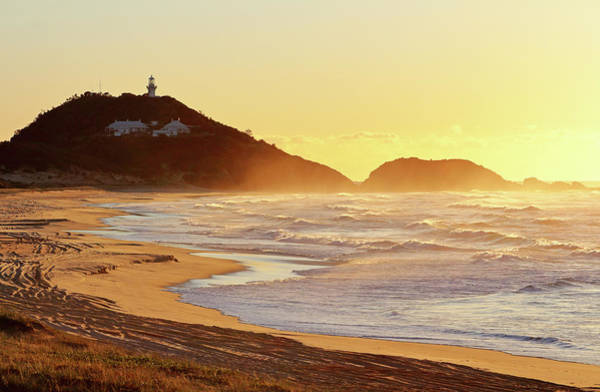 Sunrise At Sugarloaf Point Art Print