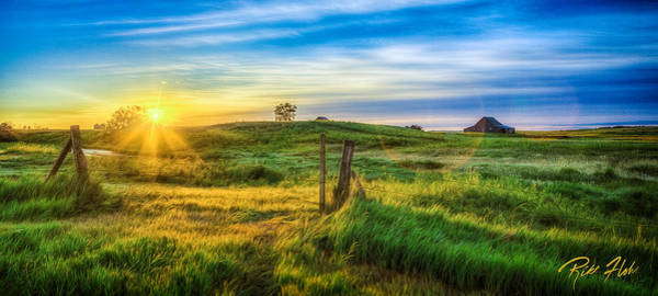Photograph - Sunrise At The Gate by Rikk Flohr