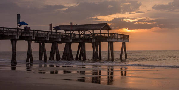 Photograph - Sunrise At The Pier by James Woody
