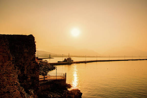 Photograph - Sunrise At The Pier Of Alanya by Sun Travels