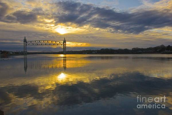 Photograph - Sunrise At The Train Bridge by Amazing Jules