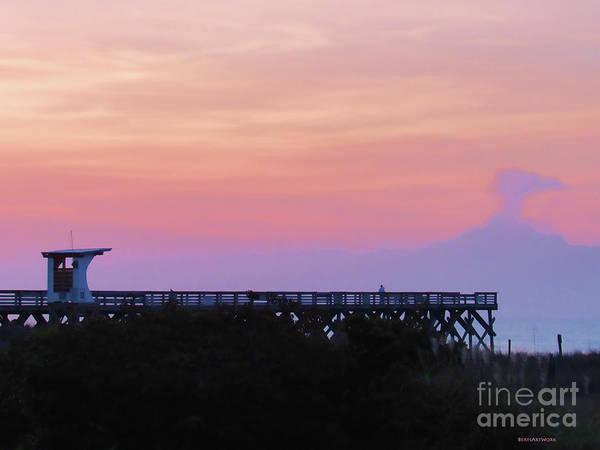 Photograph - Sunrise At Wrightsville Beach by Roberta Byram