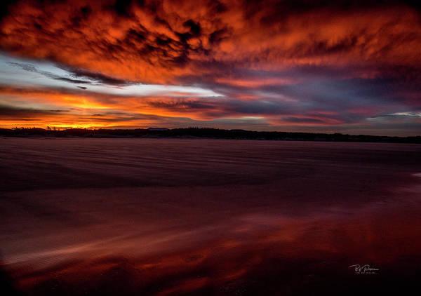 Photograph - Sunrise Beach 4 by Bill Posner