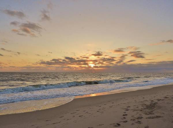 Wall Art - Photograph - Sunrise Beach by Red Cross