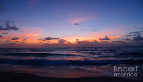 Photograph - Sunrise Beach Treasure Coast Florida 1a by Ricardos Creations