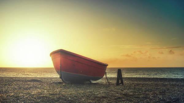 Photograph - Sunrise Boat by James Billings