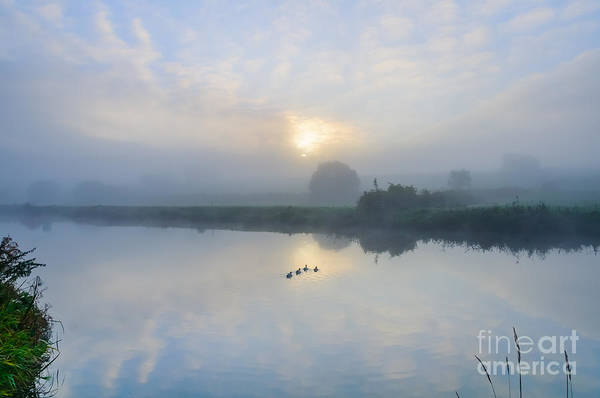 Photograph - Sunrise By The River by Colin Rayner