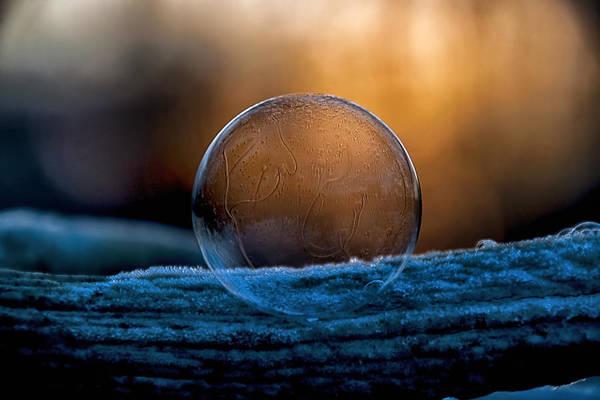 Photograph - Sunrise Capture In Bubble by Christina VanGinkel