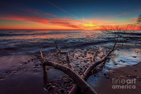 Wall Art - Photograph - Sunrise Crossing  by Andrew Slater