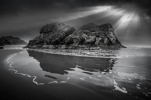 Photograph - Sunrise Drama On The Pacific Coastline by Debra and Dave Vanderlaan