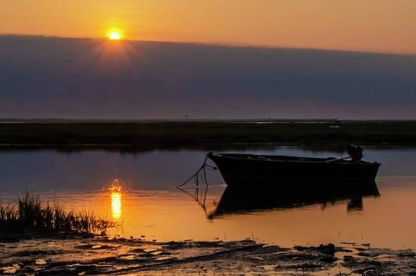 Wall Art - Photograph - Sunrise Fishing Boat - Avalon New Jersey  by Bill Cannon