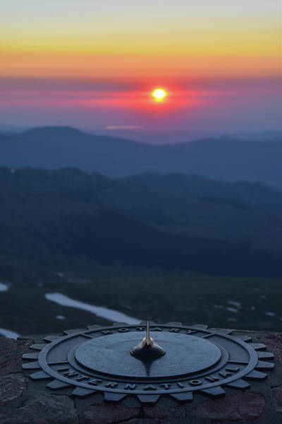 Amnesty Photograph - Sunrise From 14,000' by Ben Ford