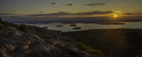 Photograph - Sunrise From Cadillac Mountain by Owen Weber