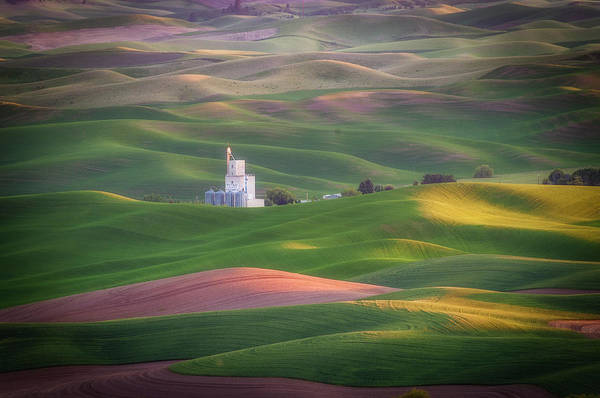 Photograph - Sunrise From Steptoe Butte. by Usha Peddamatham