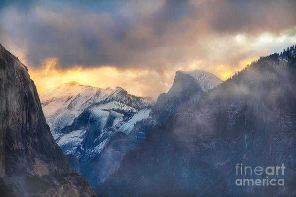 Photograph - Sunrise Half Dome by Anthony Bonafede