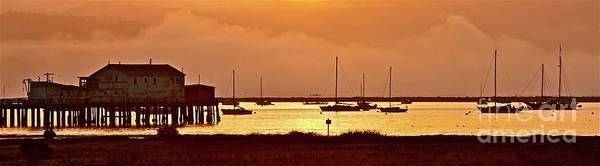 Half Moon Bay Photograph - Sunrise Half Moon Bay California by Gus McCrea