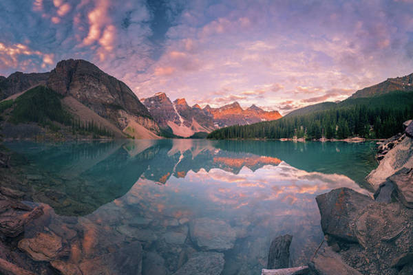 Wall Art - Photograph - Sunrise Hour At Banff by William Freebilly photography