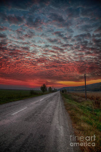 Moldova Wall Art - Photograph - Sunrise In Autumn by Gabriela Insuratelu
