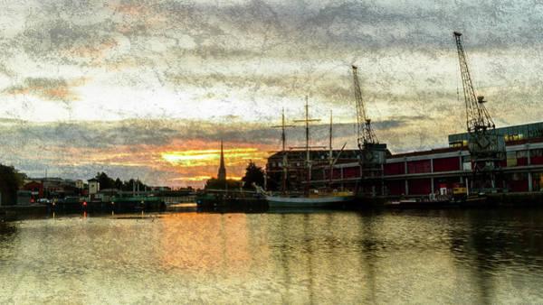 Photograph - Sunrise In Bristol A Fine Art by Jacek Wojnarowski