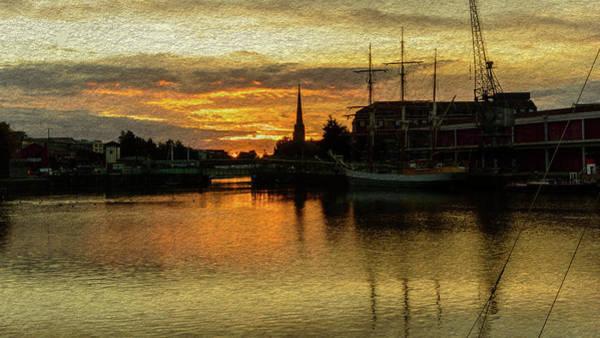 Photograph - Sunrise In Bristol B Fine Art by Jacek Wojnarowski