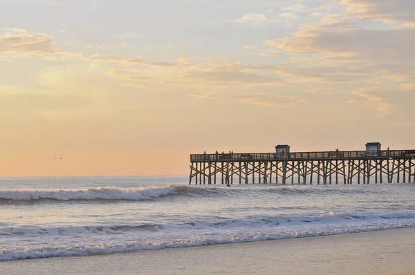 Flagler Photograph - Sunrise In Flagler Beach by Carrieanne Le Bras