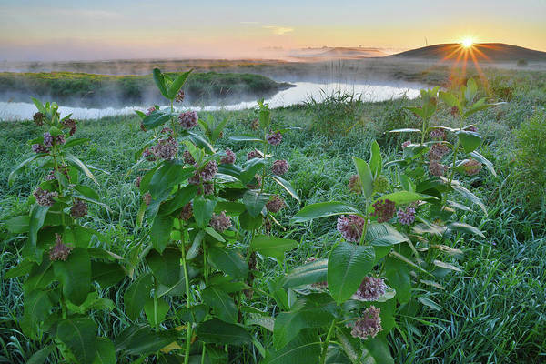 Photograph - Sunrise In Glacial Park Over Nippersink Creek by Ray Mathis