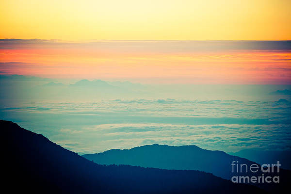 Photograph - Sunrise In Himalayas Annapurna Yatra Himalayas Mountain Nepal  by Raimond Klavins