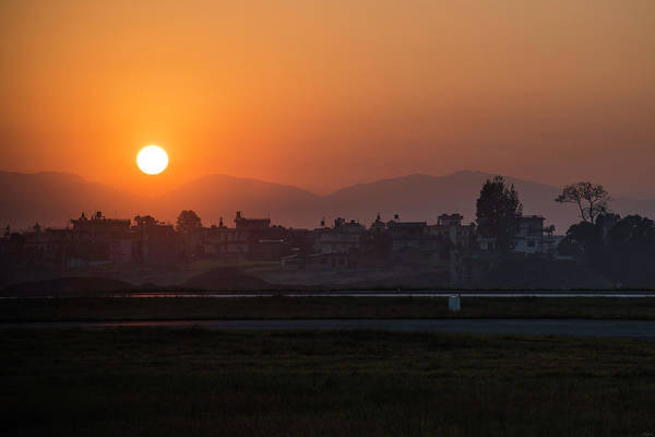 Photograph - Sunrise In Kathmandu by Owen Weber