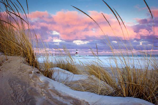 Wall Art - Photograph - Sunrise In Michigan City by Jackie Novak