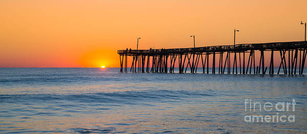 Wall Art - Photograph - Sunrise In North Carolina Outer Banks by Michael Ver Sprill