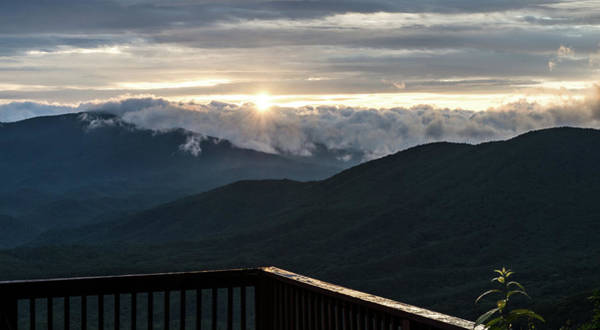 Photograph - Sunrise In North Georgia Mountains 5 by Andrea Anderegg