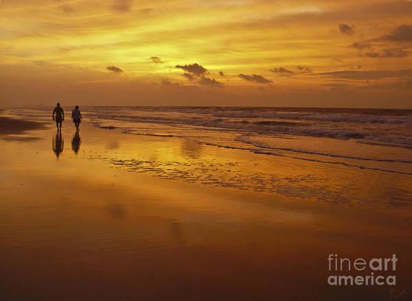 Photograph - Sunrise In Orange by Jeff Breiman