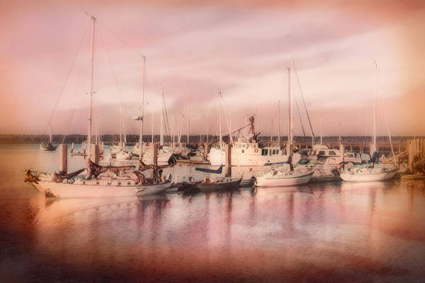 Photograph - Sunrise In Peaches And Cream by Debra and Dave Vanderlaan