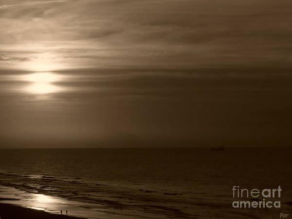 Photograph - Sunrise In Sepia by Jeff Breiman