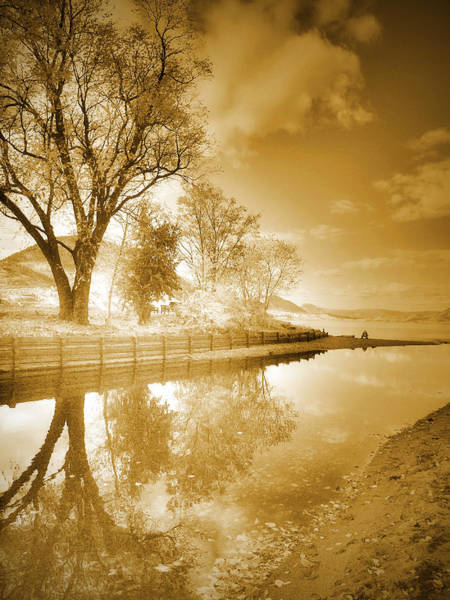 Photograph - Sunrise In Sepia by Tara Turner