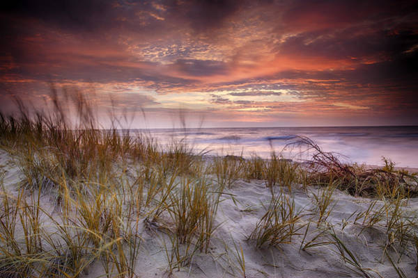 Photograph - Sunrise In The Breeze by CA  Johnson