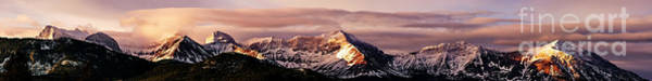 Photograph - Sunrise In The Crowsnest Pass by Brad Allen Fine Art