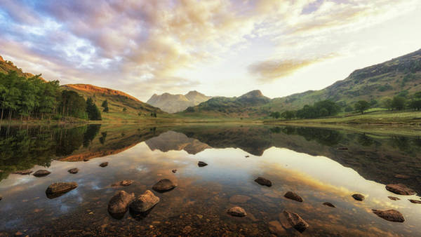 Photograph - Sunrise In The Lakes by James Billings