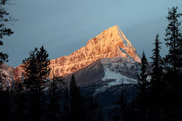 Photograph - Sunrise In The Rockies by Pierre Leclerc Photography