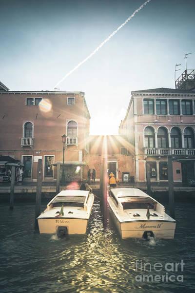 Photograph - Sunrise In Venice by Marina Usmanskaya